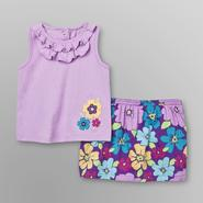 Little Wonders Infant Girl's Tank Top & Skirt - Floral at Kmart.com