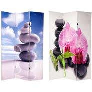 Oriental Furniture 6 ft. Tall Double Sided Zen Room Divider at Sears.com