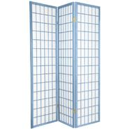 Oriental Furniture 6 ft. Tall Window Pane - Special Edition - 3 Panel - Sky at Kmart.com