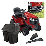 Craftsman  46 In. 21hp Yard Tractor With Bagger, Mulc...