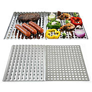 Mr. Bar-B-Q Stainless Steel Reusable Grill Sheet Dual Value Pack at Sears.com