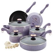 Paula Deen 15 pc Lavender Cookware Set - Speckled at Kmart.com