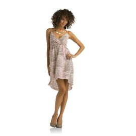 Kardashian Kollection Women's High-Low Dress - Leopard Print at Sears.com