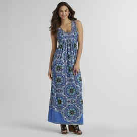 Live and Let Live Women's Embellished Maxi Dress at Sears.com