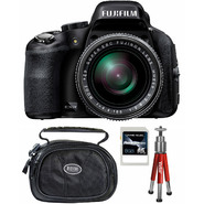 Fujifilm FinePix HS50EXR 16MP Black Digital Camera, Carrying Case, Mini Red Tripod and 8GB SDHC Memory Card at Sears.com