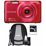 Fujifilm FinePix JX680 16MP Red Digital Camera, Starter Kit and 8GB SDHC Memory Card at Sears.com