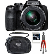 Fujifilm FinePix S8200 16MP Black Digital Camera, Carrying Case, Mini Red Tripod and 8GB SDHC Memory Card at Sears.com