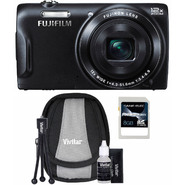 Fujifilm FinePix T550 16MP Black Digital Camera, Starter Kit and 8GB SDHC Memory Card at Sears.com