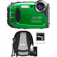 Fujifilm FinePix XP60 16MP Green All-Weather Digital Camera, Starter Kit and 8GB SDHC Memory Card at Sears.com