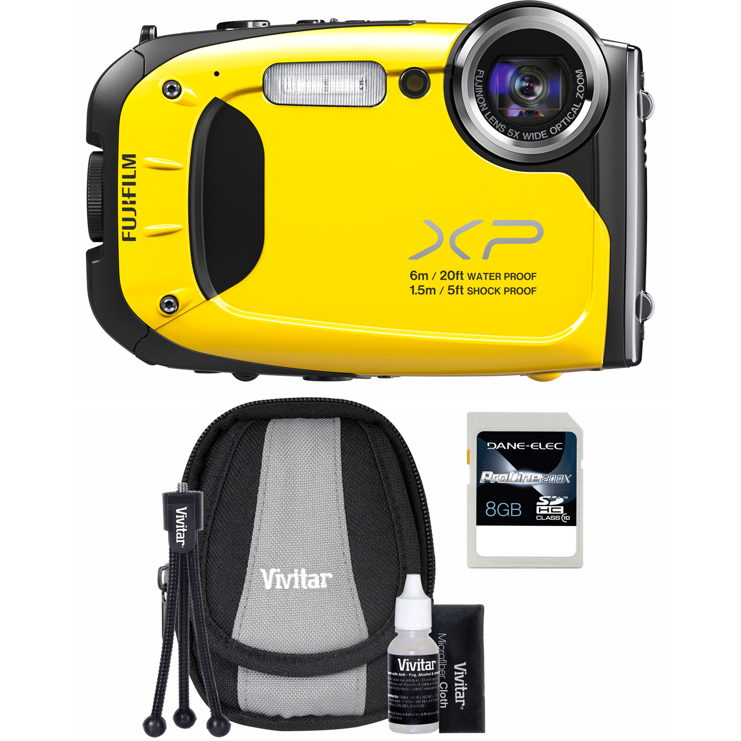 Fujifilm  FinePix XP60 16MP Yellow