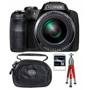 Fujifilm FinePix SL1000 16MP Black Digital Camera, Carrying Case, Mini Red Tripod and 8GB SDHC Memory Card at Sears.com