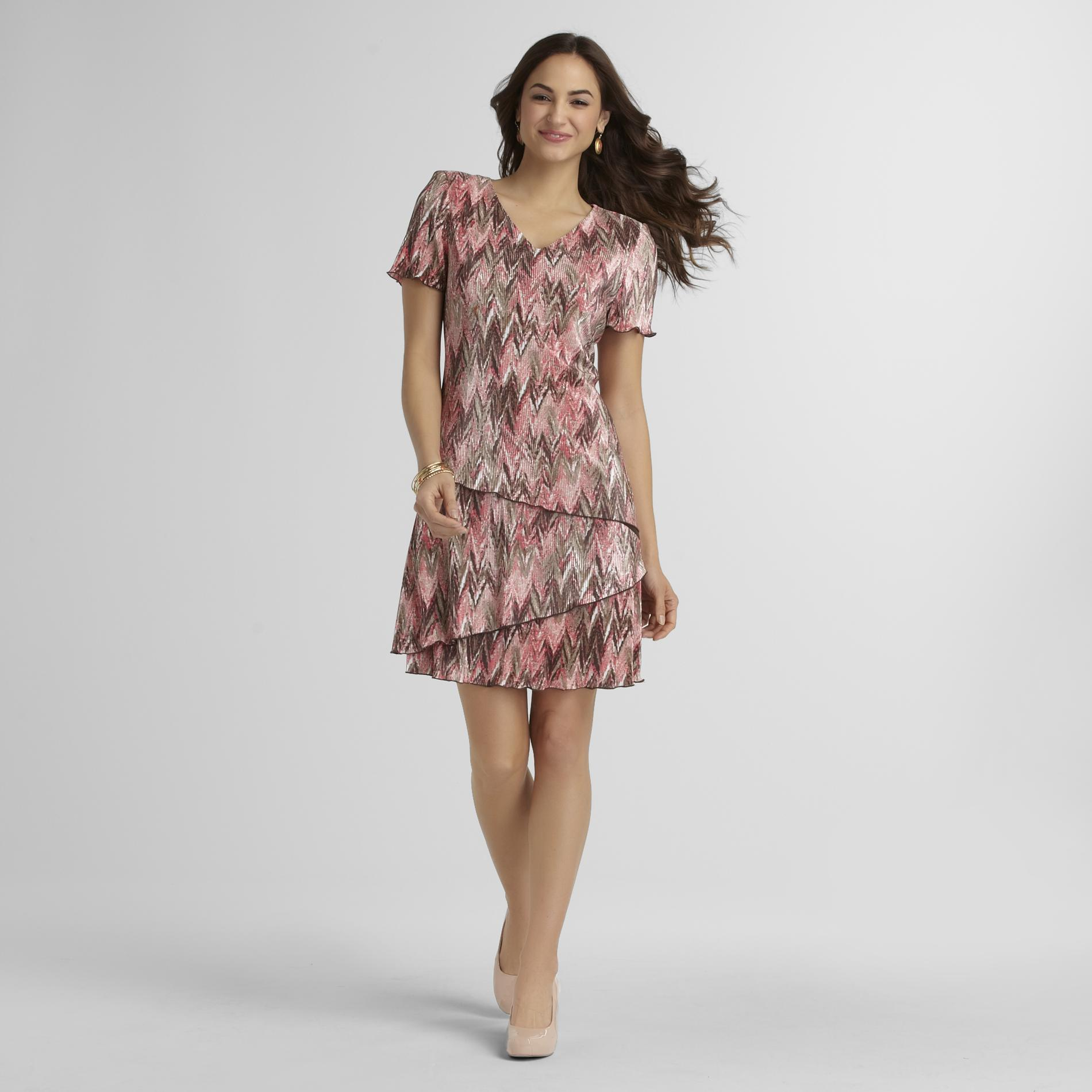 Women's Pleated Party Dress - Tribal at Sears.com