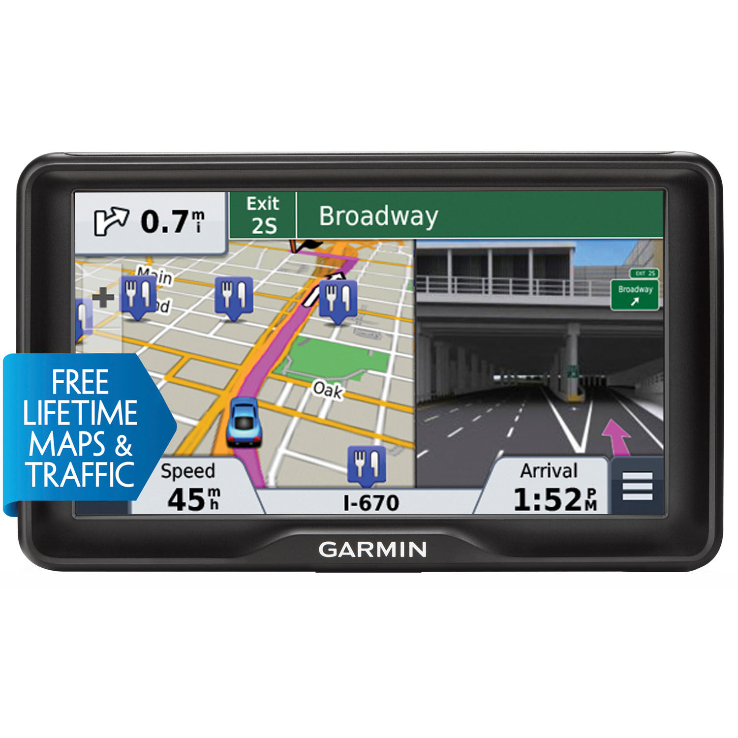 Garmin  7.0 In. GPS Navigator with Free