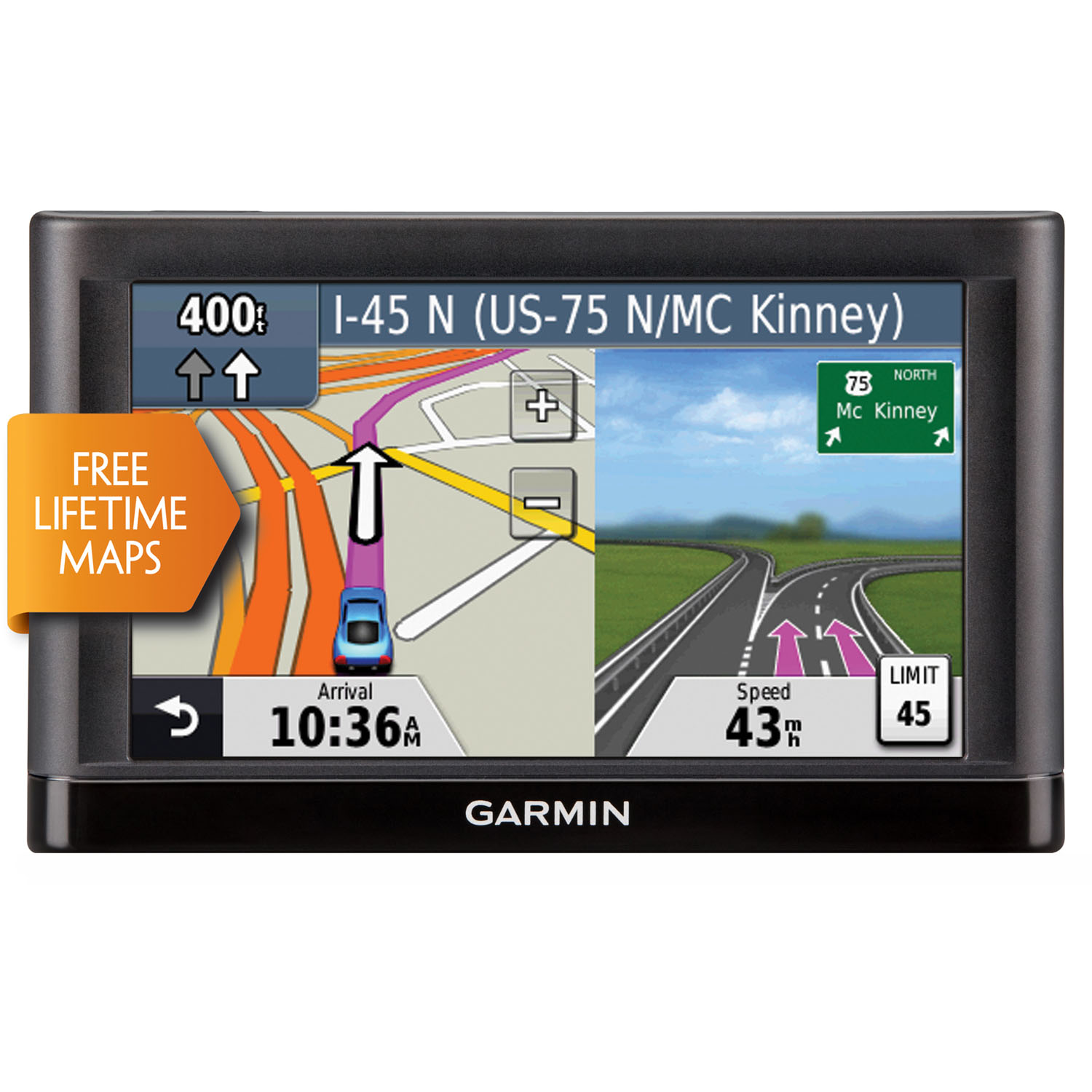 5.0 In. GPS Navigator with U.S. Coverage and