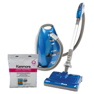 Kenmore Allergy Friendly Canister Vacuum & HEPA Bags ...