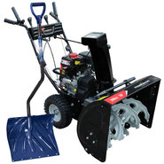 Power Smart 26-28'' Gas Snow Blower with Shovel Snow R...