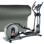 Nordic Track Elliptical Trainer & Anti Shock Floor Bu...
