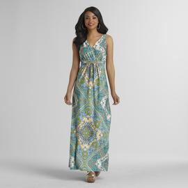 Metaphor Women's Maxi Dress - Scarf Print at Sears.com