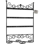 "Darice 3 Tier Metal Earring Stand W/Scroll 9""X12""X4"" Black at Kmart.com"