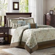 Colormate Filmore Jacquard Bedding Set - 7 Piece at Sears.com