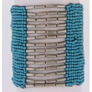 Studio S Women's Turquoise Beaded Cuff Bracelet at Sears.com