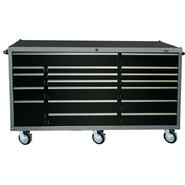 "Viper Tool Storage ARMOR 72"" 18 Drawer Series 18G Steel Rolling Cabinet, Black at Sears.com"