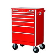 "International SHD 27"" 6-Drawer Ball Bearing Slides Roller Cabinet Red at Sears.com"