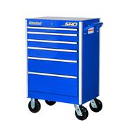 "International SHD 27"" 6-Drawer Ball Bearing Slides Roller Cabinet Blue at Sears.com"