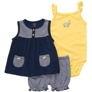 Carter's Infant Girl's Tunic, Bodysuit & Bloomers - Nautical at Sears.com