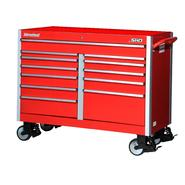 "International SHD 54"" 12-Drawer Ball Bearing Slides Roller Cabinet Red at Sears.com"