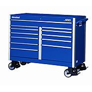 "International SHD 54"" 12-Drawer Ball Bearing Slides Roller Cabinet Blue at Sears.com"