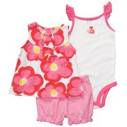 Carter's Infant Girl's Tunic, Bodysuit & Shorts - Ladybug at Sears.com