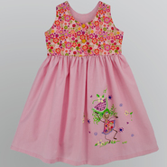 "NiGi Toddler Girl's ""Oval with Watermellon"" Hand Painted Playtime Dress at Sears.com"