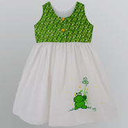 "NiGi Toddler Girl's ""Happy Toad"" Hand Painted Playtime Dress at Sears.com"