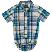 OshKosh Infant Boy's Shirt Bodysuit - Plaid at Sears.com