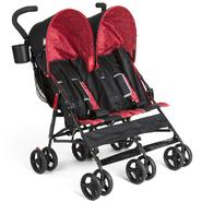 Delta Side X Side Double Stroller - Red Circles at Sears.com