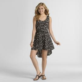 Metaphor Women's Sleeveless High-Low Dress - Leopard at Sears.com