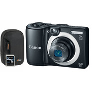 Canon PowerShot A1400 Black 16MP Digital Camera, Camera Pouch and 8GB SDHC Memory Card at Sears.com