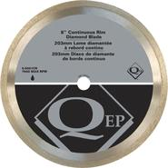 QEP Continuous Rim 8 in. Diameter Diamond Blade, Wet/Dry Cutting, General Purpose at Sears.com