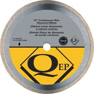 QEP Continuous Rim 10 in. Diameter Diamond Blade, Wet Cutting, Premium at Sears.com