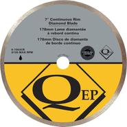 QEP Continuous Rim 7 in. Diameter Diamond Blade, Wet Cutting, Premium at Sears.com