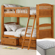Dorel Bunk Bed with Mattress Bundle at Sears.com