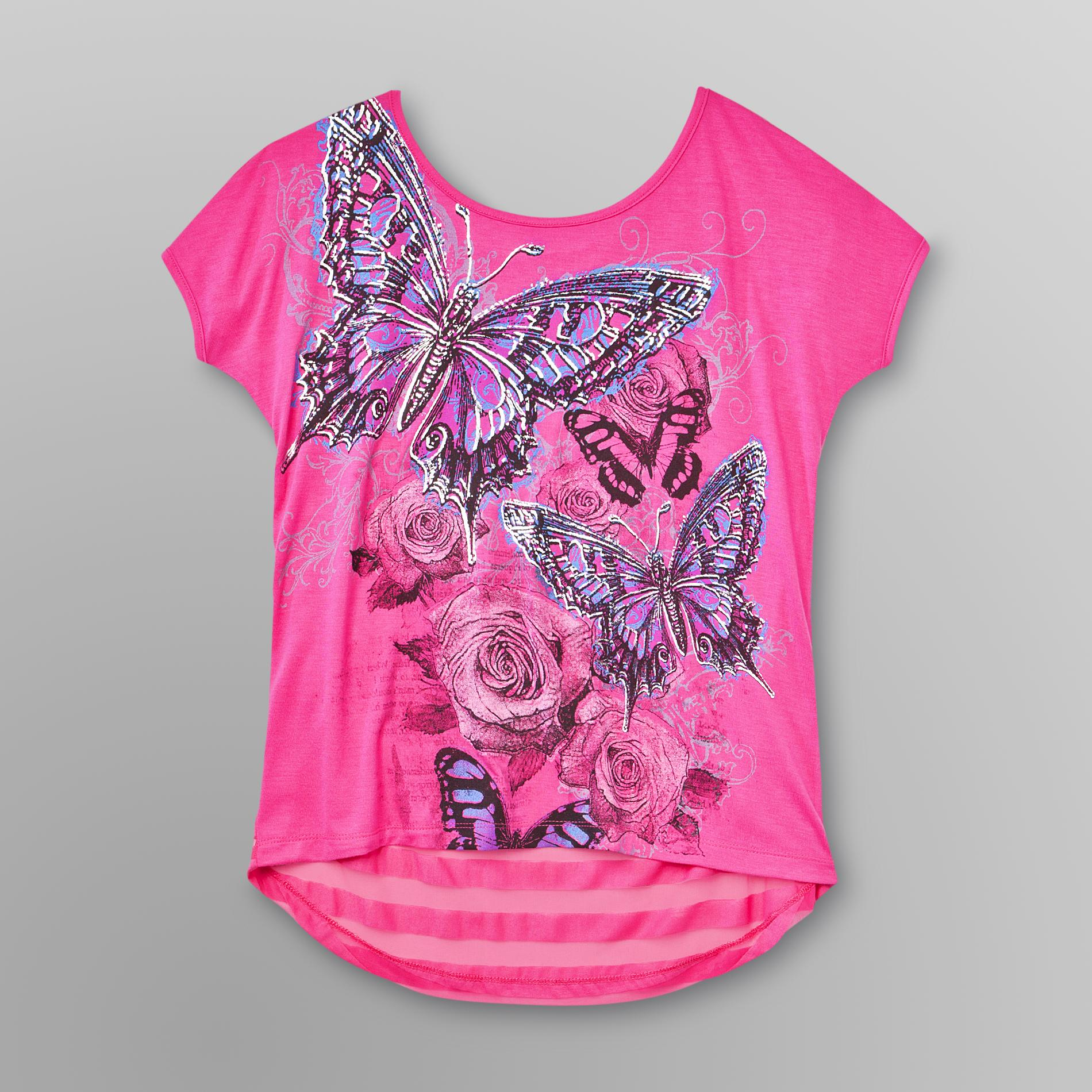 Bongo Junior's Graphic T-Shirt - Butterflies at Sears.com
