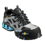 Nautilus Safety Footwear Women's Composite Toe Electrical Hazard Waterproof Athletic N1852 Grey/Blue Wide Widths Available at Sears.com