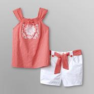 WonderKids Infant & Toddler Girl's Tank Top & Shorts - Flower at Kmart.com