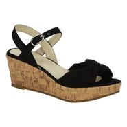 Route 66 Women's Wedge Sandal Moreley - Black at Kmart.com