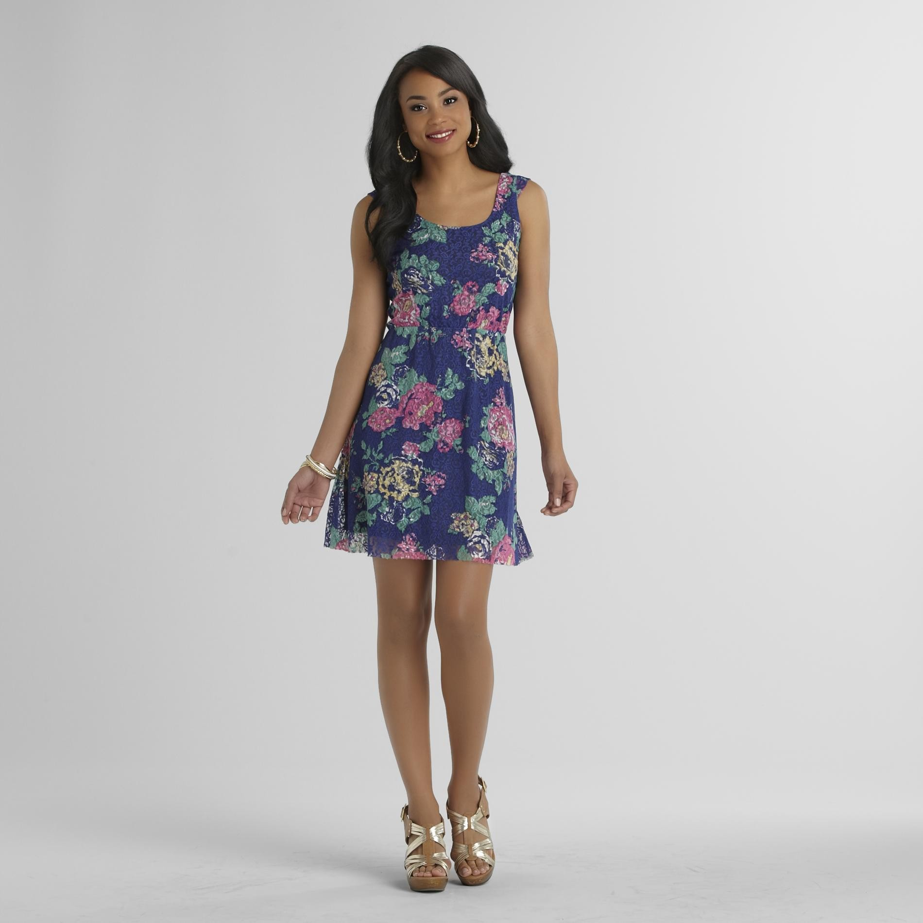 Justify Junior's Lace Dress - Floral at Sears.com
