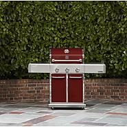 Kenmore Elite 3 Burner Dual Fuel Vermillion Red Gas Grill at Sears.com
