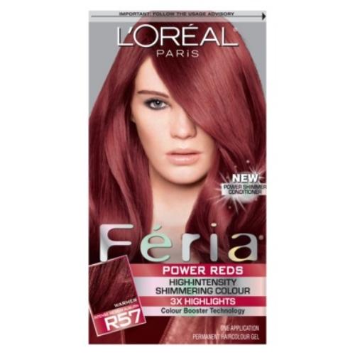 L'Oreal R48 Warmer Intense Deep Auburn Hair Color 1 KT BOX ...