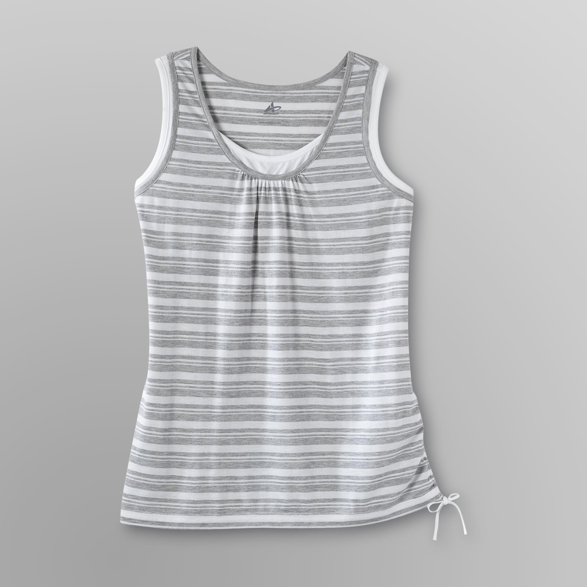 Athletech Women's Workout Top - Striped at Kmart.com